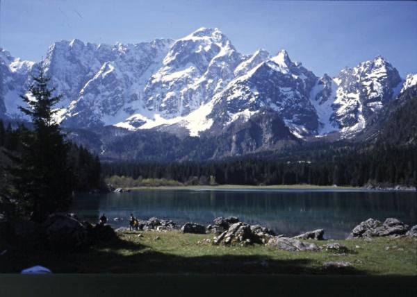 Laghi di Fusine - Mangart