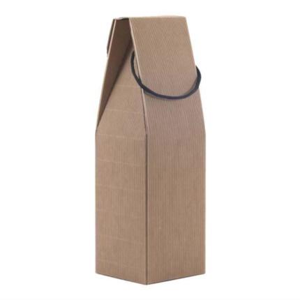 Confezione a sacchetto avana 1 magnum con maniglia