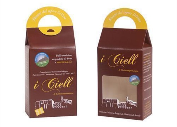 "Astucci per biscotti ""I Ciell""