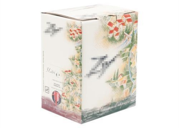 Bag in Box con grafica da disegno a mano| Packaging - Espositori - Bag in Box