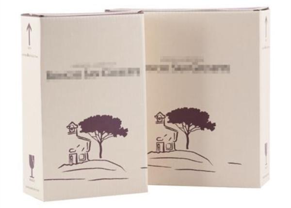 Confezioni per bottiglie con stampa flexo 2 colori| Packaging - Espositori - Bag in Box