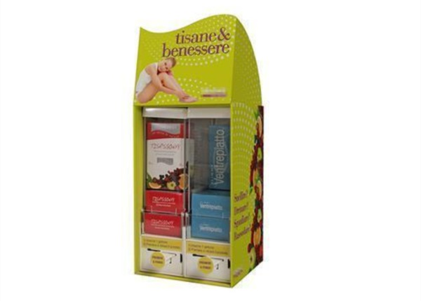 Espositore da banco per tisane| Packaging - Espositori - Bag in Box