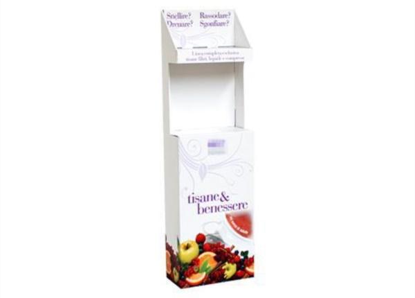 Espositore a due ripiani| Packaging - Espositori - Bag in Box