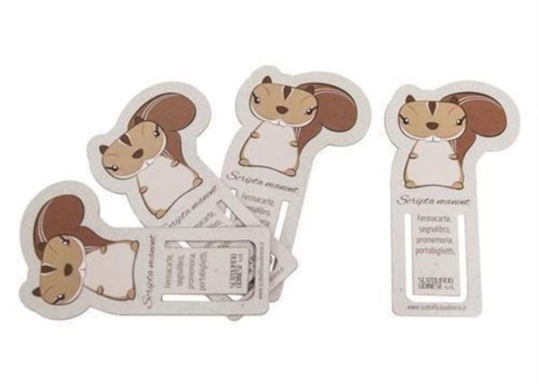 Fermacarte - Segnalibro  Packaging - Espositori - Bag in Box