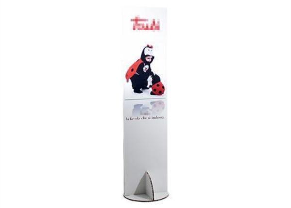 Totem in alveolare| Packaging - Espositori - Bag in Box