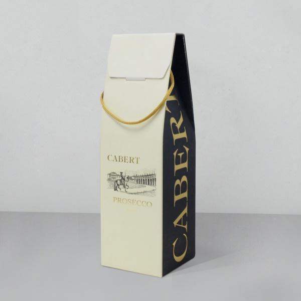 Confezione con grafica a 2 colori e lavorazioni| Packaging - Espositori - Bag in Box